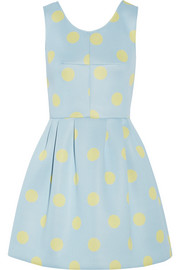 Finds + Vivetta Sirio polka-dot neoprene mini dress