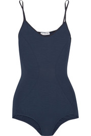 Stretch-jersey bodysuit