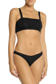 BASE Range Tube stretch-bamboo soft-cup bra