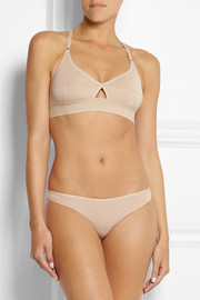 BASE Range Lady stretch-bamboo soft-cup bra