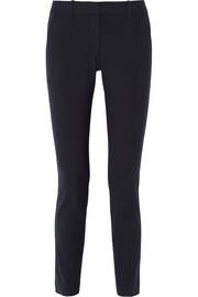 Theory Louise stretch-crepe skinny pants