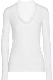 James Perse Cotton-blend top