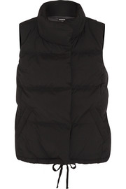 James Perse Quilted shell down gilet