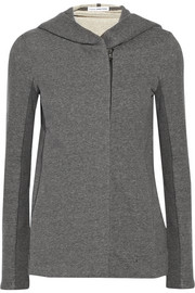 James Perse Cotton French terry hooded top