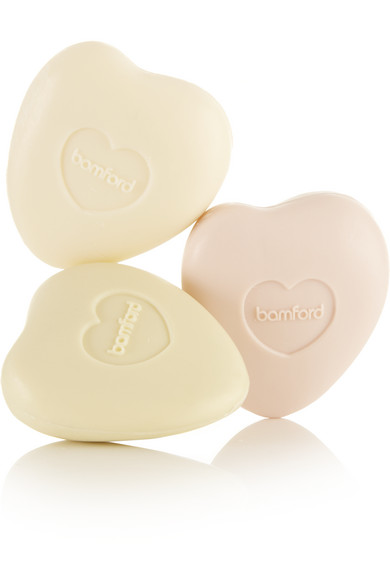 BAMFORD Rose, Geranium And Jasmine Pebble Soap Set, 3 X 75G - Colorless
