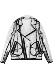 + Wanda Nylon Johnny PU biker jacket