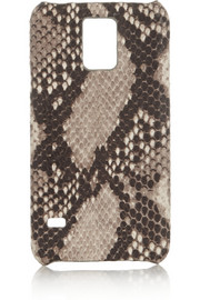 The Case Factory Snake-print leather Samsung Galaxy S5 cover