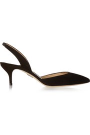 Paul Andrew Rhea suede pumps