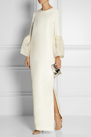 Roksanda Ilincic Dubois silk and cotton-blend gown