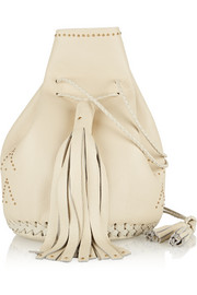 Wendy Nichol Bullet studded leather bucket bag