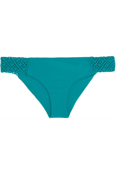 Tori Praver Windward Low Rise Macram 233 Detailed Bikini