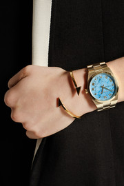 Michael Kors Channing's gold-tone watch