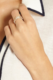 Repossi Antifier 18-karat rose gold diamond ring