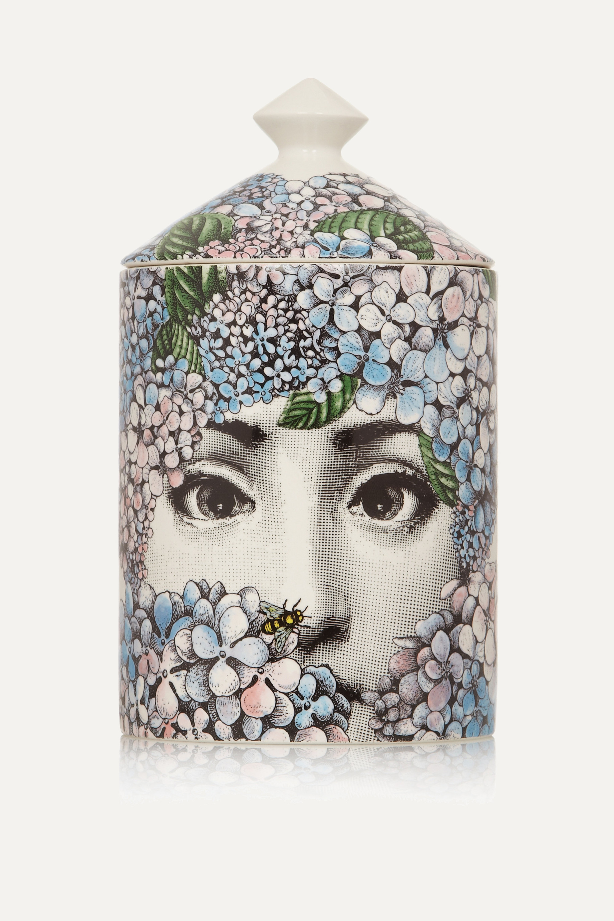 Fornasetti Ortensia scented candle, 300g