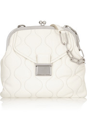 Miu Miu Quilted leather shoulder bag