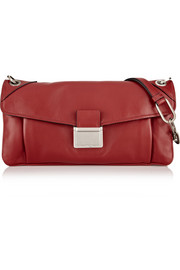 Miu Miu Push Lock leather shoulder bag