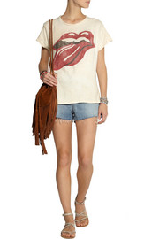 Finds + MadeWorn Rolling Stones cotton-jersey T-shirt