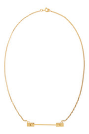 Finds + Vibe Harsløf gold-plated necklace