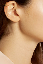 Finds + Vibe Harsløf gold-plated ear cuff