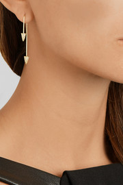 Finds + Asherali Knopfer Mix and Match 18-karat gold, diamond and pearl earring