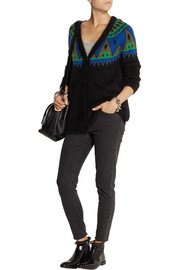 Finds + AIMO RICHLY angora and wool-blend cardigan