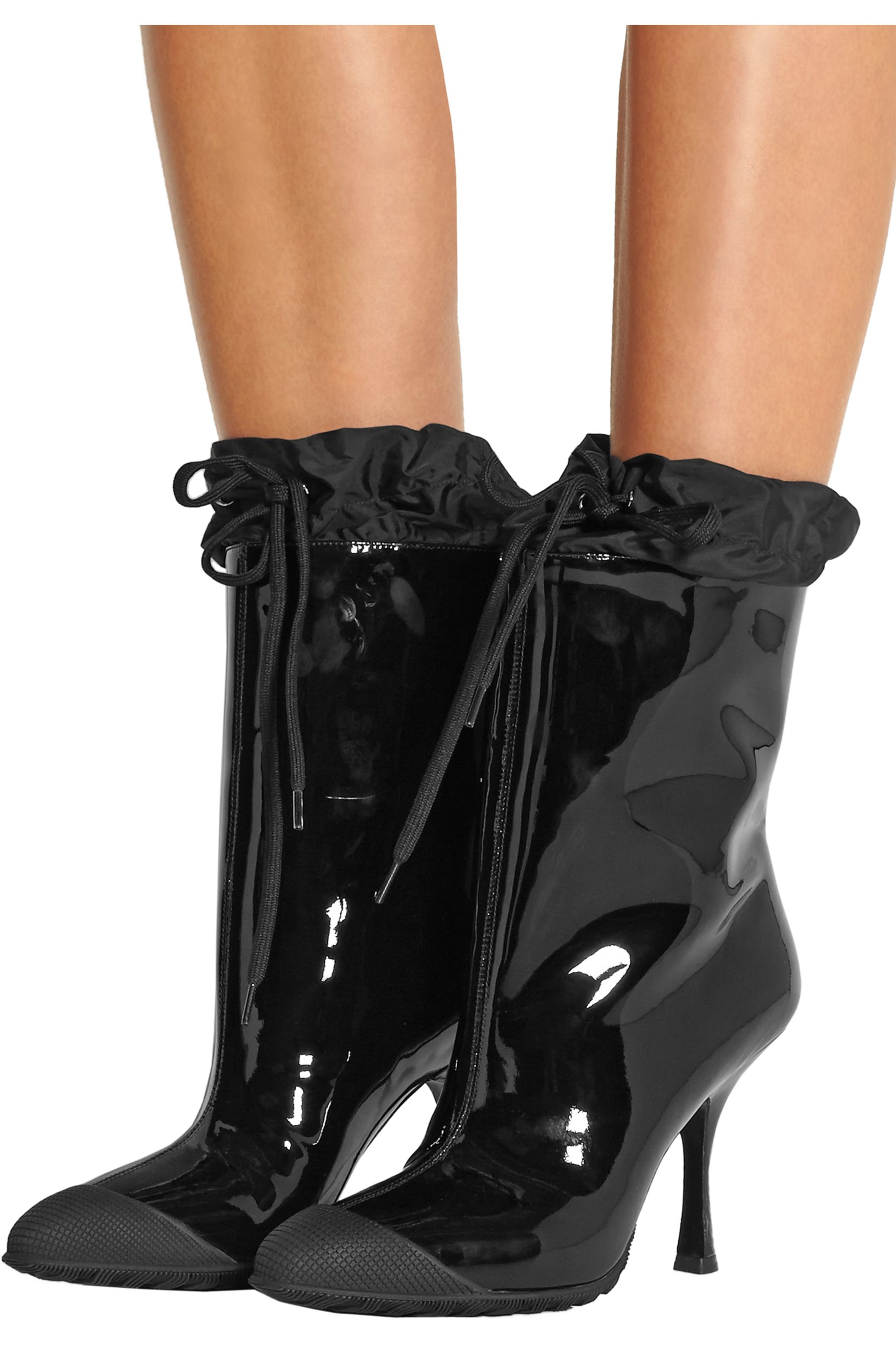 Miu Miu Patent-leather ankle boots