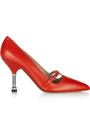 Miu Miu Leather Mary Jane pumps