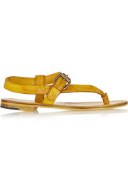 Álvaro Crocodile sandals