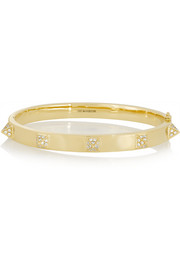 Anita Ko Spike 18-karat gold diamond bracelet