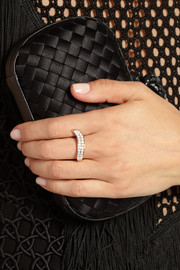 Anita Ko Wave 18-karat rose gold diamond ring