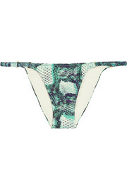 Skin New printed bikini briefs