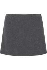 Miu Miu Textured-wool mini skirt