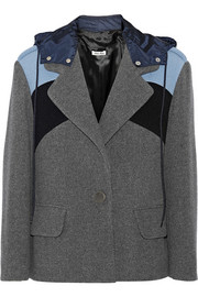 Miu Miu Paneled wool jacket