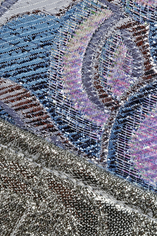 Miu Miu Metallic brocade mini dress