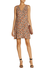 Miu Miu Printed cady dress