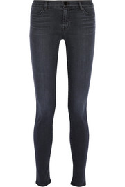 J Brand 620 Super Skinny Stocking mid-rise jeans