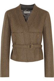 Christophe Lemaire Belted wool-blend felt jacket