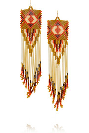 + Jacquie Aiche bead and porcupine earrings