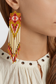 Finds + Jacquie Aiche bead and porcupine earrings