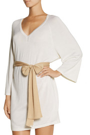 Back Label Jaipur cashmere and silk-blend kaftan