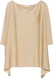 Back Label Jaipur cashmere and silk-blend poncho