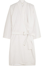 Essentials Cleopatra printed cotton robe
