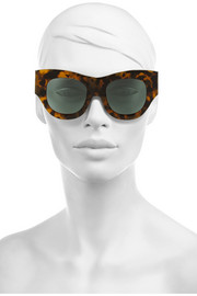 Finds + Karen Walker Faithful D-frame acetate sunglasses