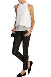 Elizabeth and James Taren silk crepe de chine top