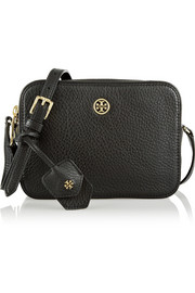 Tory Burch Robinson textured-leather shoulder bag
