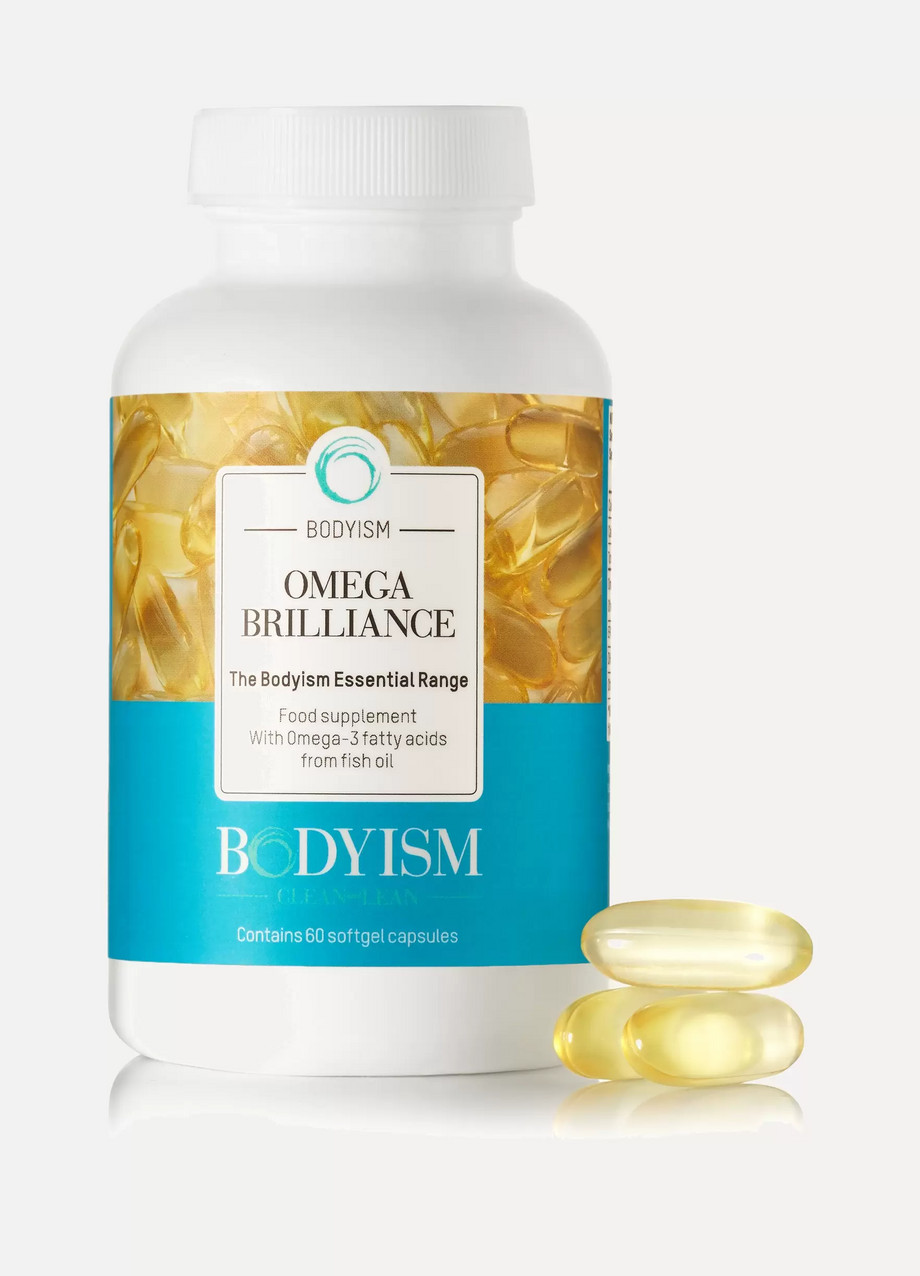 Omega Brilliance Supplement (60 Capsules), by Bodyism's Clean and Lean