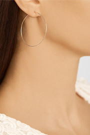 Brooke Gregson Hammered 18-karat rose gold earrings