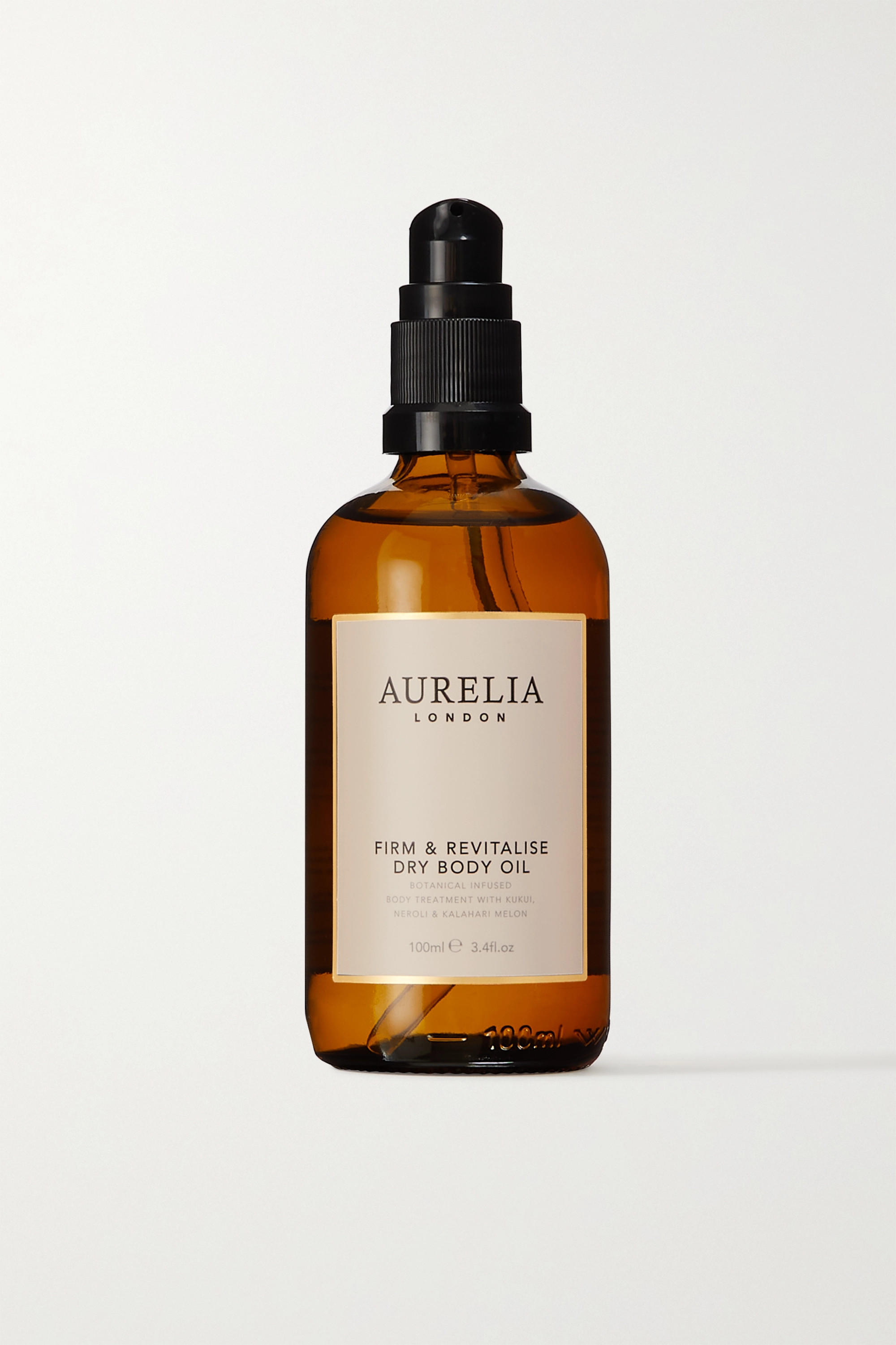 Aurelia Probiotic Skincare + NET SUSTAIN Firm and Revitalise Dry Body Oil, 100ml
