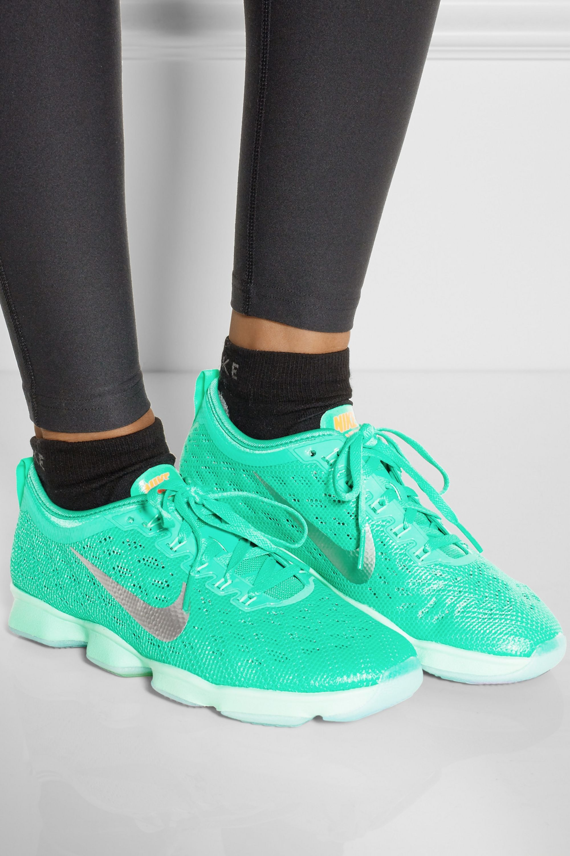 Nike Zoom Fit Agility mesh sneakers