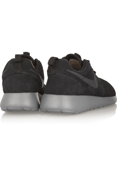 And Roshe Run Sneakers Porter Winter Net Nike Mesh A com Suede wqOgII4d